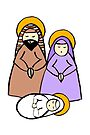 Holy Family by Soxy Fleming