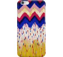SHINE ON, Revisited - Americana Red White Blue USA Abstract Acrylic Painting Home Decor Xmas Gift iPhone Case/Skin