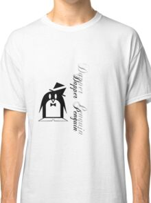Dapper Penguin Classic T-Shirt