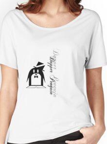 Dapper Penguin Women's Relaxed Fit T-Shirt