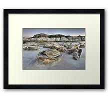 The Egg Factory Bisti/De-Na-Zin Wilderness  Framed Print