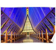 Air Force Academy Chapel Colorado Springs Poster