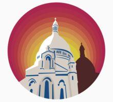 Catholic Church Dome Circle WPA by patrimonio