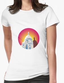Catholic Church Dome Circle WPA T-Shirt