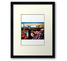 MAGNETO VS DALI Framed Print