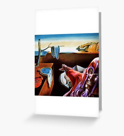 MAGNETO VS DALI Greeting Card