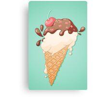 Icecream Yum! Canvas Print