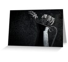 Rustic Jug Greeting Card