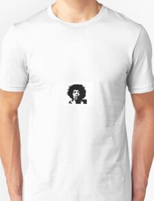 Jimi Hendrix black and white T-Shirt