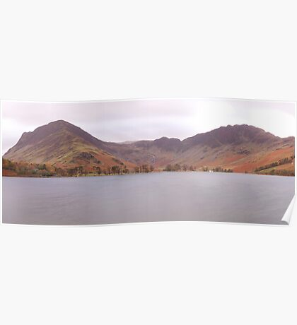Buttermere Panorama Poster