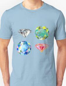Watercolor Diamonds – April Birthstone T-Shirt