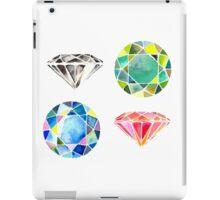 Watercolor Diamonds – April Birthstone iPad Case/Skin