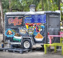 Food Van at Arawak Cay in Nassau, The Bahamas by Jeremy Lavender Photography