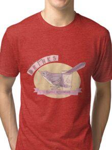Literary Drinks: Tequila Mockingbird Tri-blend T-Shirt