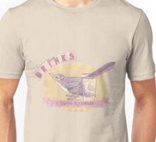 Literary Drinks: Tequila Mockingbird Unisex T-Shirt