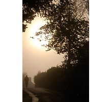 Early Misty November Morning, Ambleside .. Photographic Print