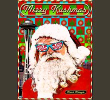 Merry Kushmas Card - T shirt Unisex T-Shirt