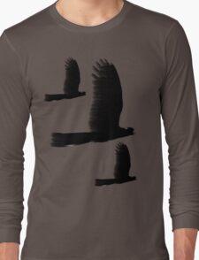 Black Cockatoos Long Sleeve T-Shirt