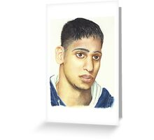Amir Khan Greeting Card