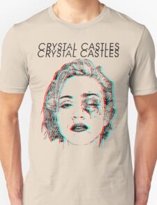 Crystal Castles Alice Face Unisex T-Shirt