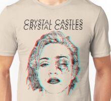 Crystal Castles Alice Face Unisex T-Shirt
