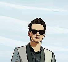 Brendon Urie by Qistina Iskandar