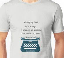 John Fante's typewriter Unisex T-Shirt
