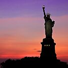 Statue of Liberty NYC by Fern Blacker