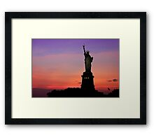 Statue of Liberty NYC Framed Print