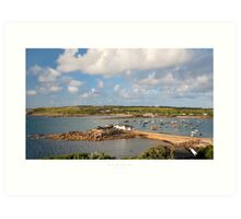 St Mary's, Isles of Scilly Art Print
