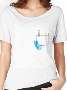 Shirt Pocket Women's Relaxed Fit T-Shirt