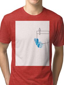 Shirt Pocket Tri-blend T-Shirt