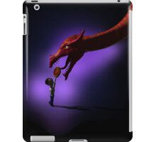 Greeting the Dragon-formatted for iPad Case iPad Case/Skin