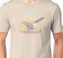 Tequila Mockingbird - minimal Unisex T-Shirt