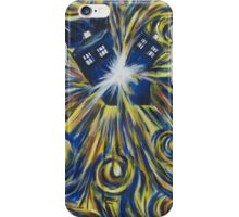Tardis in Time Wortex Explosion iPhone Case/Skin