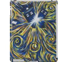 Tardis in Time Wortex Explosion iPad Case/Skin