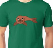 Red Baby Seal Unisex T-Shirt