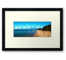 Beach Savai'i Framed Print