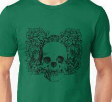 skull and wreath Unisex T-Shirt