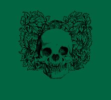 skull and wreath Unisex T-Shirt