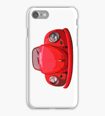 Red Vdub iPhone Case iPhone Case/Skin