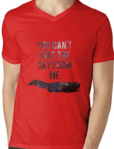 You Can't Take the Sky From Me Mens V-Neck T-Shirt