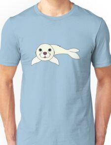 White Baby Seal Unisex T-Shirt