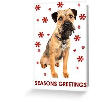 Ruby Christmas Card Greeting Card