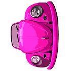 Pink Vdub iPad Case by Joe Stallard