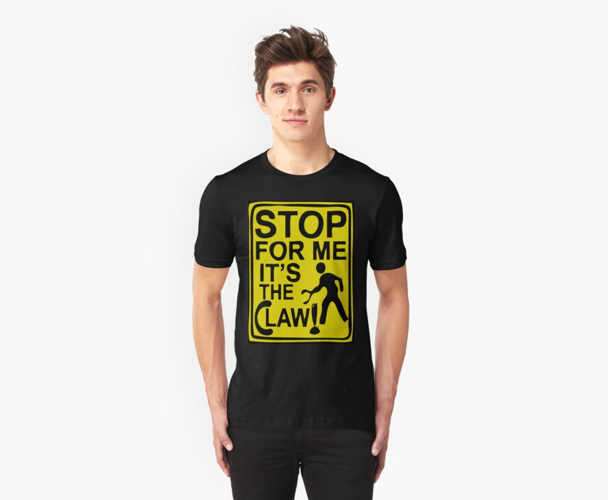 Claw Shirt Yellow by Bryan Perez