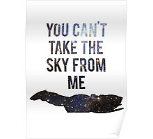 You Can't Take the Sky From Me Poster