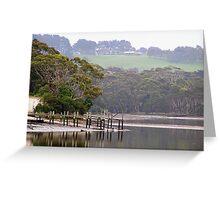 Inglis River Jetty Greeting Card