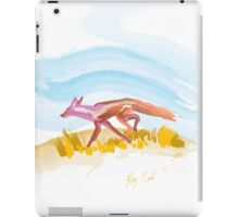 Running Fox-formatted for iPad Case iPad Case/Skin