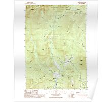 USGS TOPO Map New Hampshire NH Jackson 329611 1987 24000 Poster